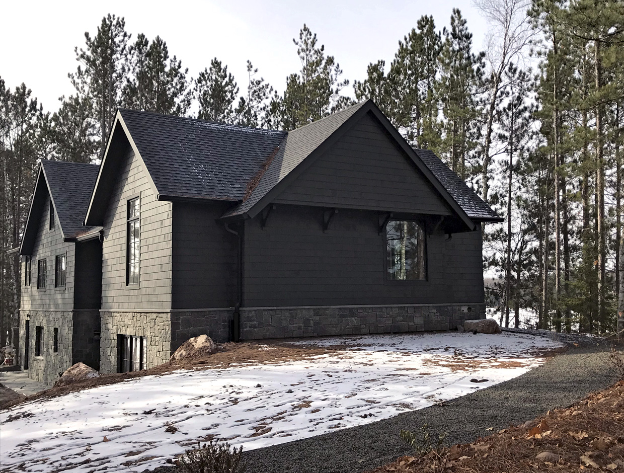 Massey Associates Architects design portfolio Northwoods Cabin Cable, Wisconsin