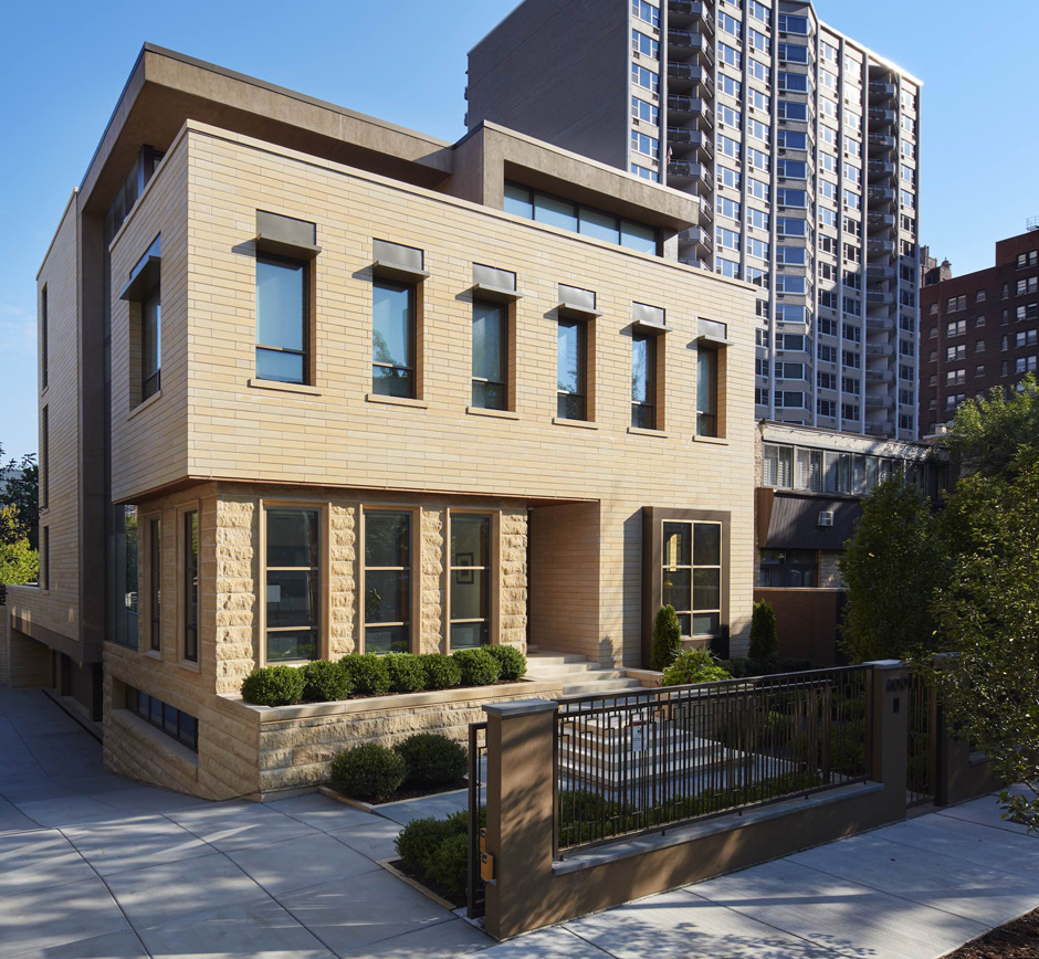 Massey Associates Architects design portfolio Lakeview contemporary Chicago, IL