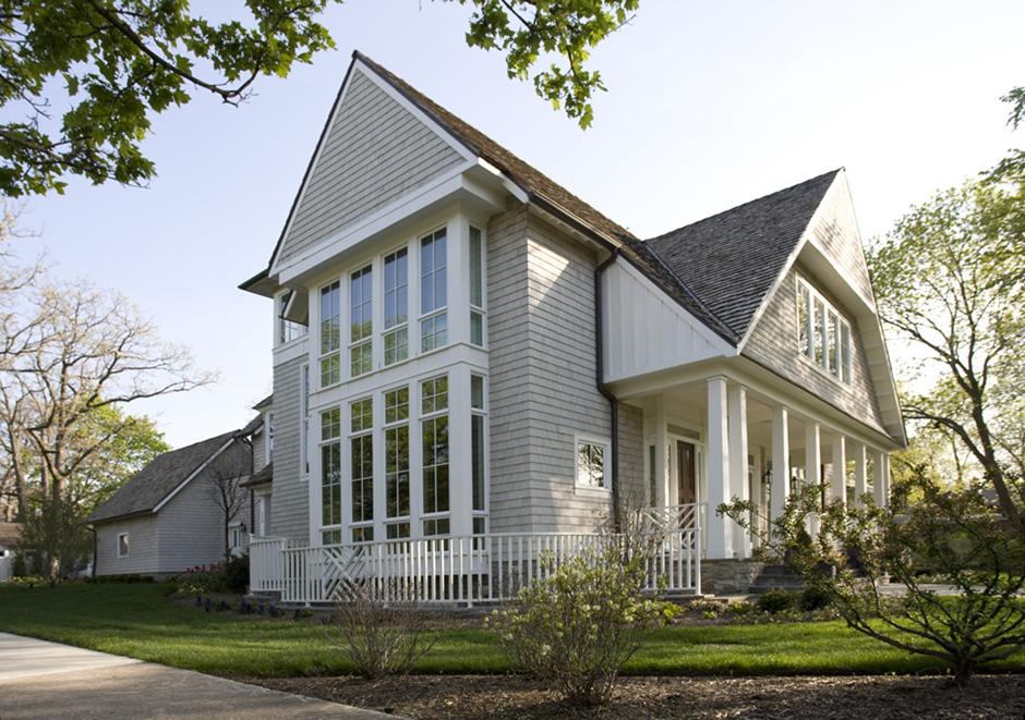 Massey Associates Architects design portfolio Northshore Residence Glencoe, Illinois