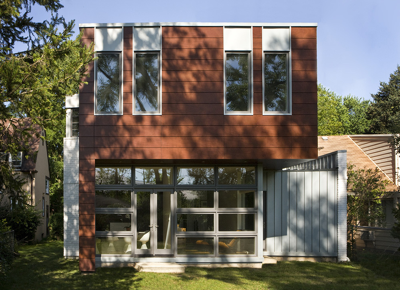 Massey Associates Architects design portfolio Suburban Transformation Evanston, Illinois